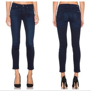 7 For All Mankind Ankle skinny pristine blue 27